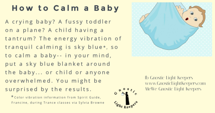 Great tool to help little ones get thru their day. Blue baby blanket