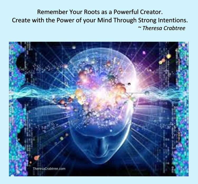 Meme 38 Powerful Creator power of mind strong intentions compressed