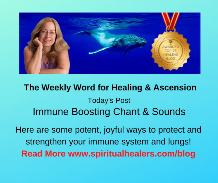 http://www.spiritualhealers.com/blog Weekly Word for Soc 3-27-20