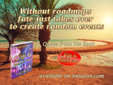 Without roadmaps fate just takes over to create random events. #SimplyAGame #roadmaps #create #fate