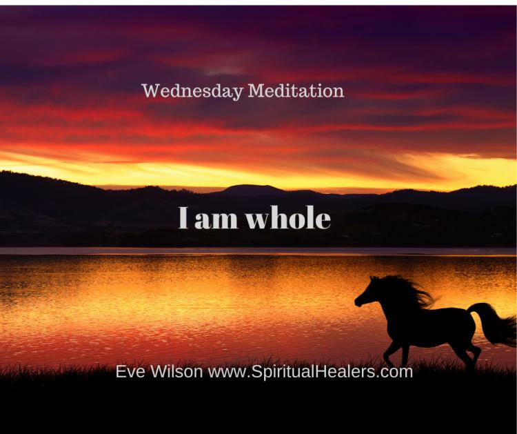 http://www.spiritualhealers.com Wednesday Meditation 5-1-20