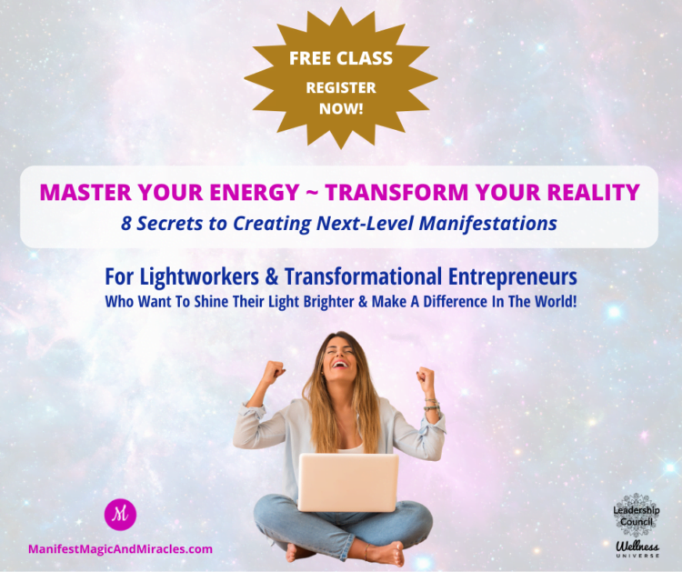 LIVE TODAY, hurry and grab your seat! ➤ Get Ready to Master Your Energy So You Can Next-Level your